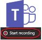 Microsoft Teams Start Recording