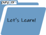 Puryear -Let's Learn logo